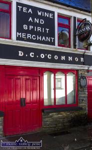 O'Connor's Bar, Knocknagoshel is the venue for the local GAA club's huge €6,200 lotto jackpot draw on Saturday night. ©Photograph: John Reidy