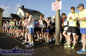 Get yourself from your couch to here. Runners face up to the line at the start of An Riocht AC Couch-to-5K Road Race/Fun Run in Castleisland.  The new season gets underway on Tuesday, September5th at 7pm. ©Photograph: John Reidy