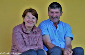 Cordal supporters, Marie and Mike Cronin at Saturday's game.