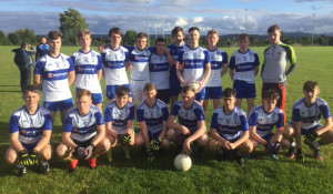 Desmonds minor boys team which played Ballymacelligott on Monday evening. Front row from left: Pairic O'Connor, Stephen Murphy, Kevin Keane, Kevin O'Mahony, Patrick Horan, Conor O'Sullivan, Ben Cooney and Adam O'Donoghue. Back from left: Padraig O'Connell, Danny Hickey, Ethan Reidy, Darren Mansell, Mickey Broderick, Dylan Browne, Paul Walsh, Ryan Mc'Guire, Tommy Regan and David Shanahan. Photograph: Gerdie Murphy