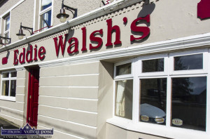 Eddie Walsh's Bar. No Lotto winner there in the latest GAA club draw.