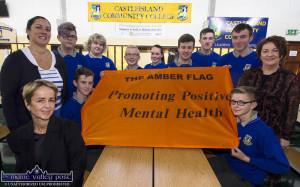 Castleisland Community College Amber Flag 13-9-2017