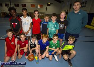 St. Mary's Basketball Club U-12A Team Training 13-9-2017