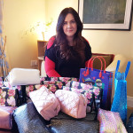 Caroline Thrilled at Response to Cancer Care Packs Appeal