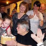 Family Gathers in Force for 'Aunty' Conseil's Surprise Party
