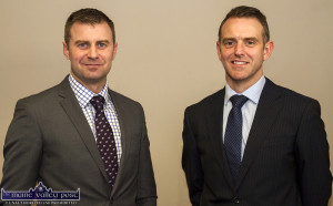 James Kelliher (left) and Tom O'Shea of Kelliher O'Shea Accountants will host a Breakfast Briefing  on the budget on this Thursday morning at 8:30pm. ©Photograph: John Reidy