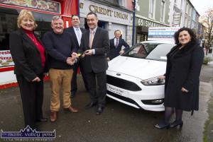 Tim Horgan Tralee Credit Union Car Winner 24-10-2017