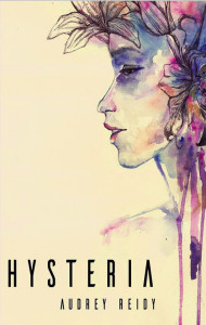 The cover of Audrey Reidy's first novel 'Hysteria' which she plans to launch online on Friday.
