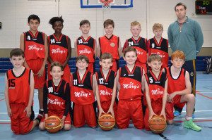 St. Mary's Basketball Club Coach, Paudie Fleming and his U-12A team which defeated KCYMS at Castleisland Community Centre. Included are, front from left: Gerard Costello, Shane Kelliher, Eoghan Shire, Ben O'Donoghue, Cian Downey, Isaac Brosnan and Patrick Brosnan. Back row: Eoin Brennan, Mint O'Connor, Christopher Devane, Larry Nolan, Max O'Connell, Killian Dennehy and Coach Fleming.
