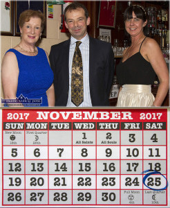 The Castleisland Hospice Ball is returning on Saturday, November 25th.  Hospice branch Chairman, Jack Shanahan pictured with Noreen O'Callaghan (left) and Liz Galwey at the last Hospice Ball at The Crageens in 2015.  ©Photograph: John Reidy 25-9-2015