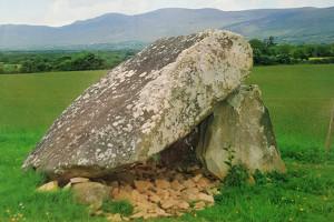 Killaclohane Portal Tomb in Milltown. Photograph Courtesy of Kerry County Council.