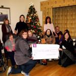 Camera Club Gift of €1,300 to Glebe Lodge