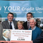 Tralee Credit Union Delivers Christmas Early for Community Projects