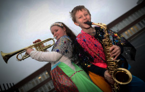 Abigail Byrne and Damien Czerwonka students from St Agnes Community Centre for Music and Arts.  welcoming the announcement by Josepha Madigan TD, Minister for Culture, Heritage and the Gaeltacht, confirming funding of €245,500 for the Music Capital Scheme 2017.Photograph:  MAXWELLPHOTOGRAPHY.IE