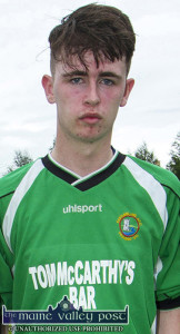 Josh Horan's man-of-the-match performance led the B team to a 4-1 win over Athletic  ©Photograph: John Reidy