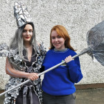 Lucy and Ruth through to Junk Kouture Regional Finals