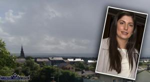 Cllr. Maura Healy Rae - highlighting a looming family housing  crisis in Castleisland. ©Photograph: John Reidy