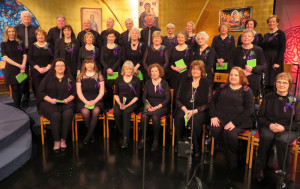 Castleisland Parish Choir at the RTÉ Studios 11-2-2018