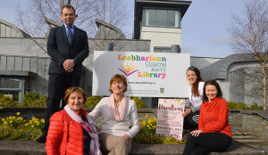 Members of Castleisland funding raising branch of Kerry Hospice at the launch of this year's Good Friday Walk which will commence at Castleisland Library car park. Included are: Jack Shanahan, chairman, Tess Fitzgerald, Catherine Horan, Trisha Higgins, Nana Beas  and and Eileen McCarthy.