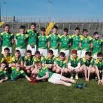 St Patrick's Reign Supreme Over Castlegregory in Schools' Final