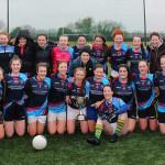 Pres Girls Celebrating Munster Colleges Football Title