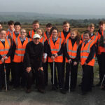 Transition Year Students Supporting County Clean-up Day