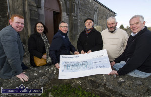Spike Players Present Cheque to Tim Moynihan 4-4-2018