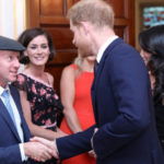 Putting the Cap on the Royal Visit as MHR met HRH