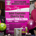Playing in Pink for Breast Cancer Research at Castleisland GC