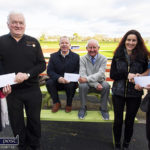 GOAL Mile / Christmas Day Cheques Presented to Charities