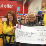 Horan's Christmas Lights Cheque Presented to Husky Charity