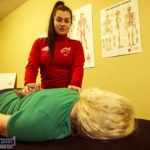 Maggie's is the Face Behind Mitchel's Sports Injury Clinic