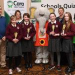 Muire Gan Smál U-13s Into Next Round of Credit Union Quiz