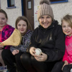 Queues for Camogie Launch Day Registrations
