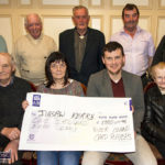 River Island Hotel Card Players Present €5,000 Gift to Charities