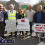 Battery Station Awareness Group Protests Outside Council Meeting