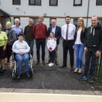 Minister Griffin Drops in on An Ríocht Athletic Club