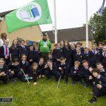 Olympian, Pupils and Teachers Raise Green Flag Over Scoil Íde