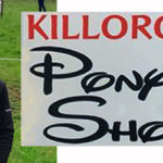 Rosette for Nicole and Aurora at Killorglin Pony Show