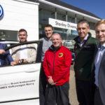 J.J. Hanrahan first Rugby VW Ambassador for Divanes Castleisland