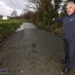 Residents 'Making War' over Flooding on The Old Road
