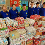 Community College Shoe-Box Appeal Wrapped Up Early this Year