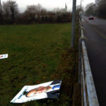 Taoiseach Leo's Posters Vandalised in Castleisland