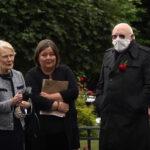 John Wade Represented UN Veterans at John Hume's Funeral in Derry