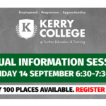 Kerry College to Hold Virtual Information Session on Monday from 6:30pm