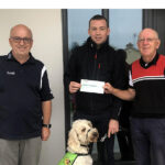 River Island Card Players Present Pre-Covid Accumulated Charity Funds