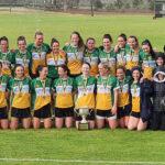 Castleisland woman on Australasian State Championship Winning GAA Team