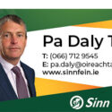 Teachta Daly Calls for Clarity on Pandemic Unemployment Payment
