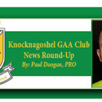 Knocknagoshel GAA Club Lotto Sellers on Their Rounds of the Parish