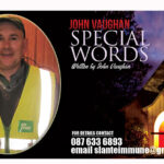John's 'Special Words' Helping to Keep Essential Service on the Road